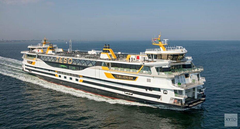Vanaf eind van de ochtend weer geen boten naar Texel