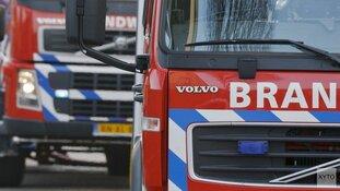 Bewoner gewond bij brand in Den Burg
