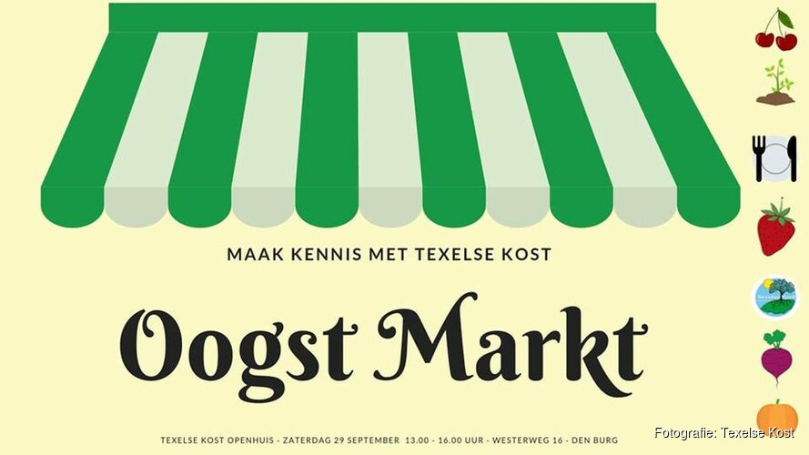 Maak kennis met Texelse kost tijdens de Oogst Markt