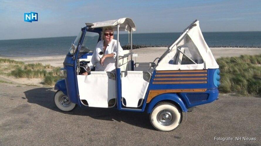 Stille elektrische scooter alternatief voor auto om Texel te verkennen
