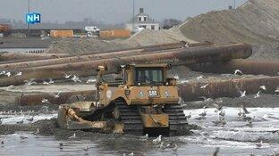 Kustversterking Texel in volle gang: al 3.750.000 kuub zand opgespoten