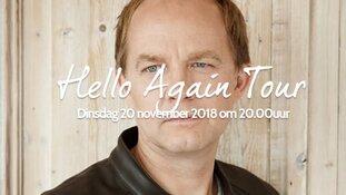 """Derek Ogilvie met """"Hello Again Tour"""" naar Texel"""
