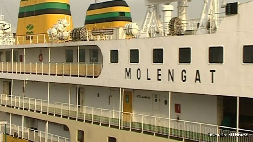 Voormalig Texelse veerboot ligt te koop voor 15 miljoen euro