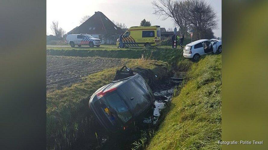 Automobilist verdacht van drugsgebruik na botsing op Texel