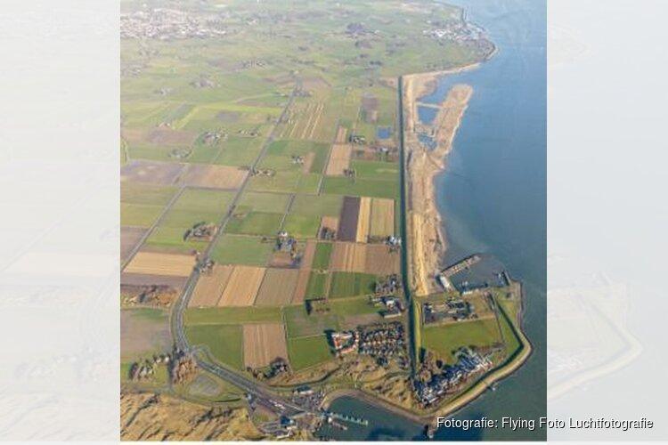 Laatste kuub zand voor de Prins Hendrikzanddijk Texel ligt er