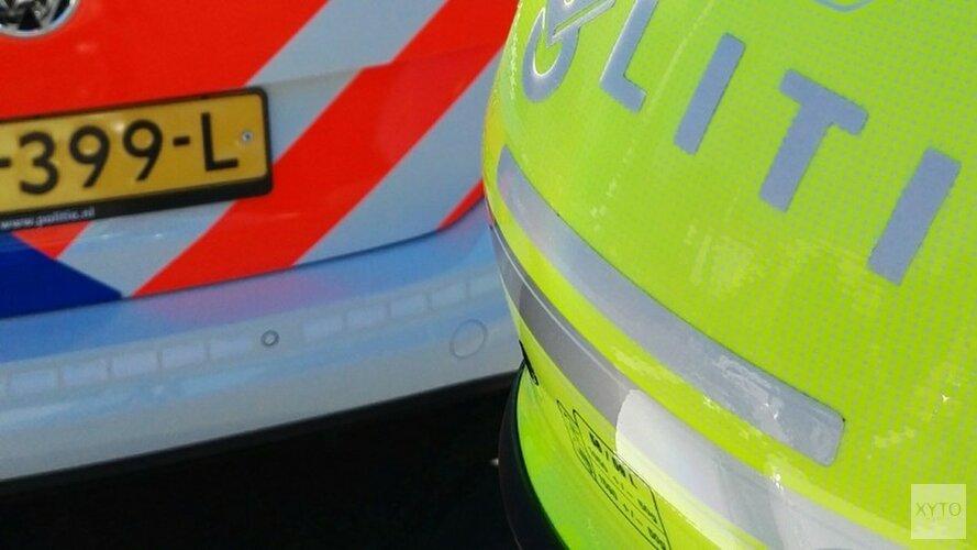 Auto belandt in sloot op Texel