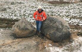 Provincie vindt 500 miljoen jaar oude zwerfkeien op Texel