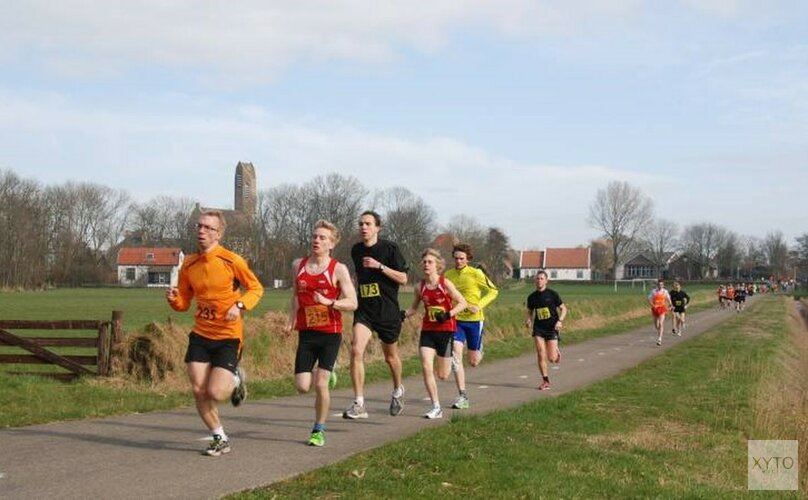 Halve marathon De Waal op zaterdag 9 maart