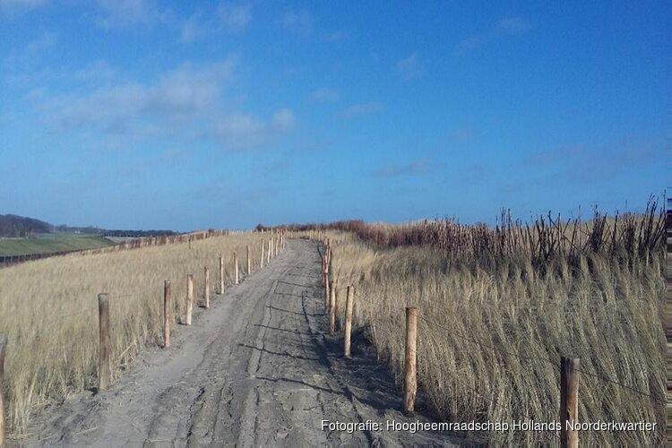 Wandelpad vroegtijdig opengesteld: Beleef deze voorjaarsvakantie al het gebied Prins Hendrikzanddijk