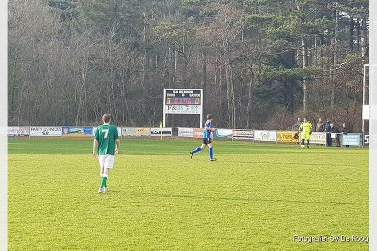 3-0 Thuisoverwinning De Koog