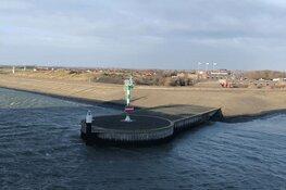 Herinneringskunstwerk dijkversterking op Texel