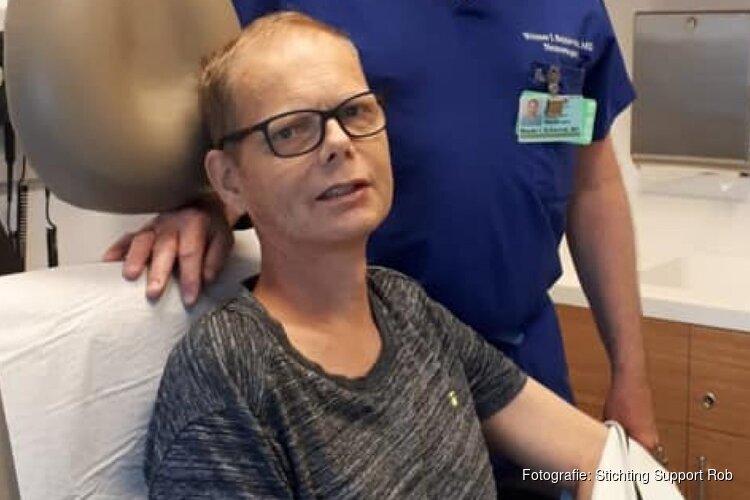 Operatie van ernstig zieke Rob Daalder goed verlopen