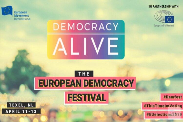 Texel drie dagen in teken van Democracy Festival