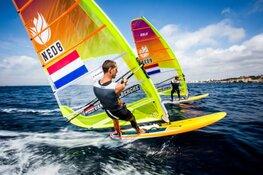 Badloe en van Rijsselberghe in top drie na EK windsurfen