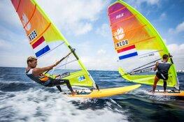 Badloe en Van Rijsselberghe als nummers één en twee naar medalrace op EK RS:X windsurfen
