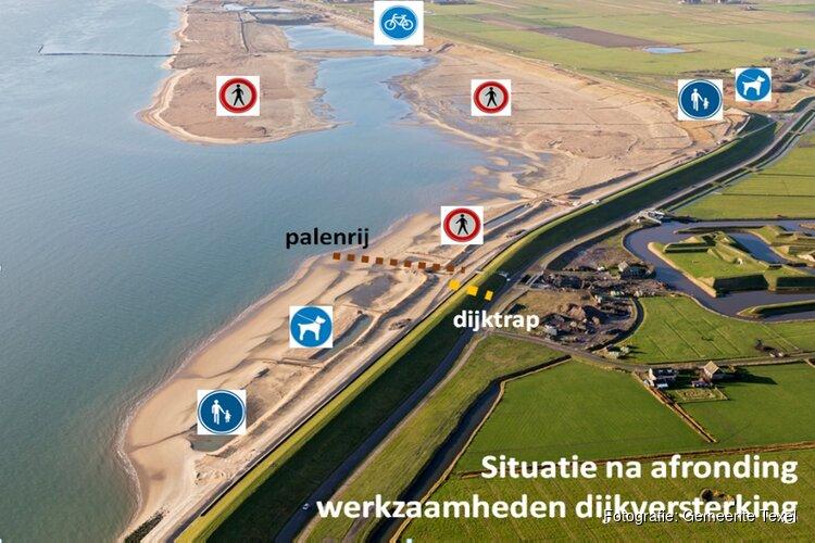Deel strand bij Prins Hendrikzanddijk toch toegankelijk