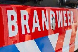 Huisje op Texels bungalowpark in brand