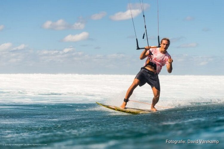 Kitesurfer Roderick Pijls ambassadeur WAVES Festival