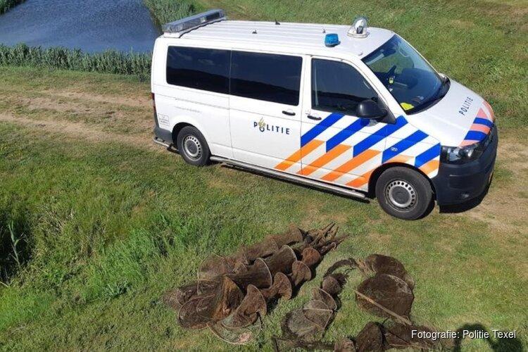 Illegale stroperij in wateren op Texel 'ten einde' door politieactie