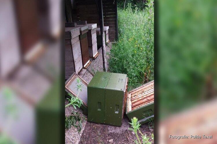 Opnieuw dood en verderf gezaaid onder bijen op Texel