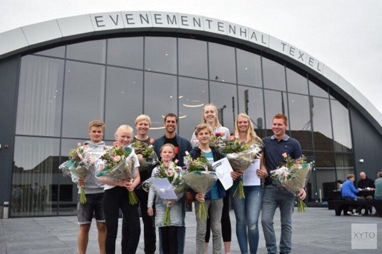 Dorian Foundation steunt zeven Texelse sporttalenten