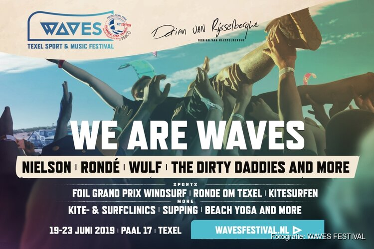 WAVES Festival Texel nu alle dagen gratis toegang