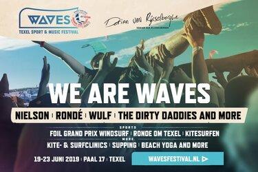 Eerste editie Waves Festival: No Single-use plastic