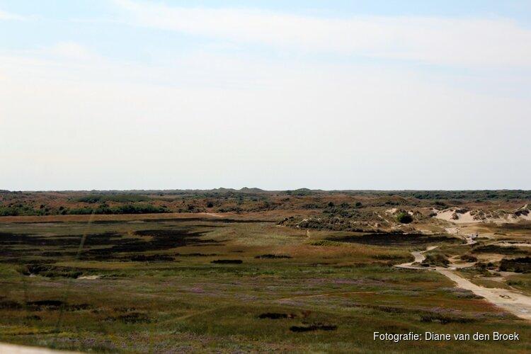 Natuurbrandrisico op Texel weer nihil: rookverbod geldt niet meer