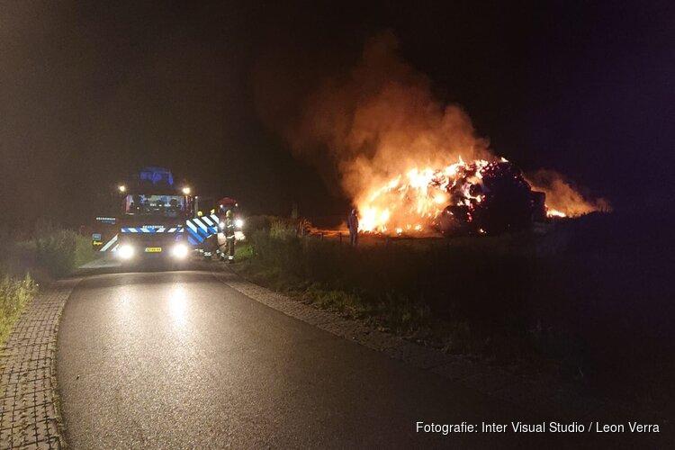 Politie zoekt getuigen brandstichting