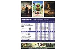 Programma cinema texel van 27 augustus t/m 4 september