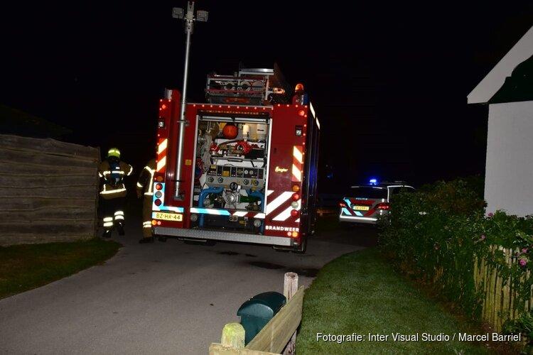 Brand in vakantiewoning op Texel