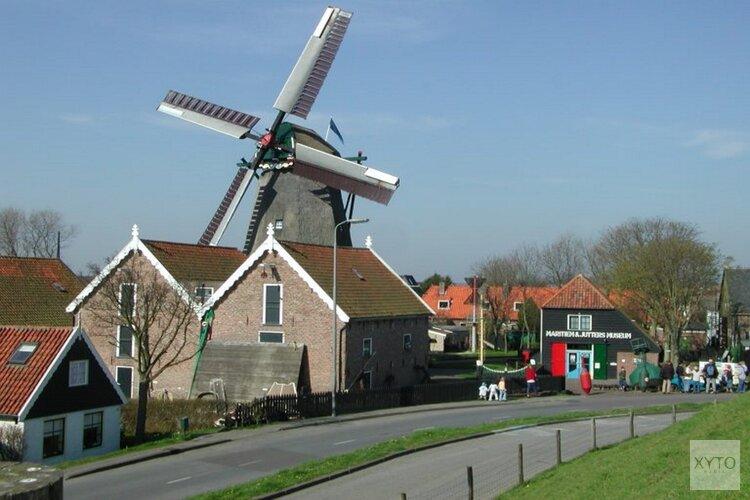 Bakken voor de molen op Open Monumentendag