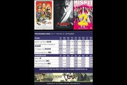 Programma cinema texel van 17 t/m 25 september