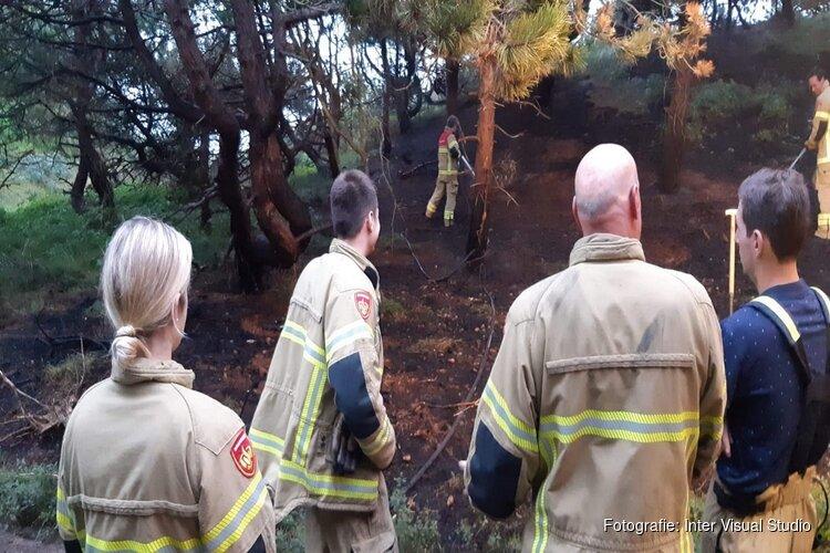 Natuurbrand Texel vermoedelijk aangestoken