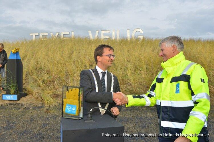 Texel veilig voor stormseizoen