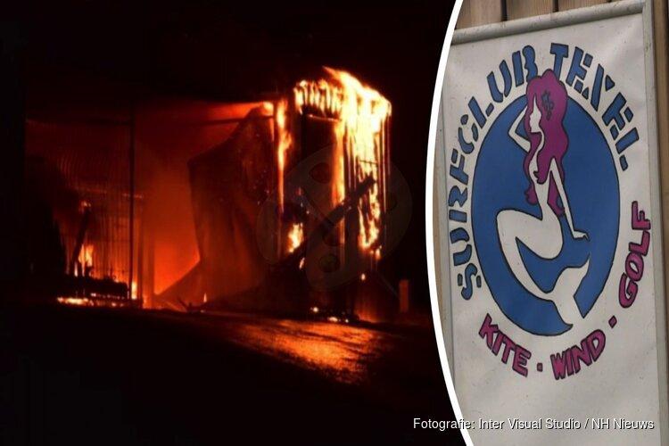 """Afgebrande surfclub was splinternieuw: """"Opening was nog niet eens geweest"""""""