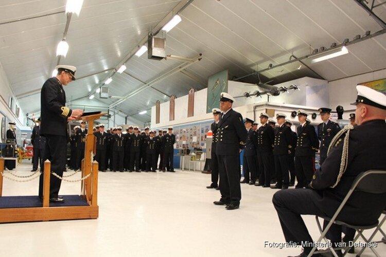 Uitreiking Erekoord Kon Marine voor levensreddend optreden