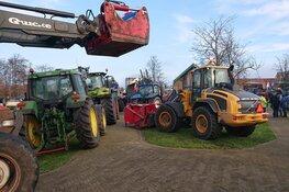 Boeren op Texel proberen gemeentehuis te bezetten