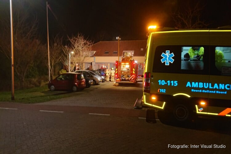 Frituurpan in brand in woning Den Burg