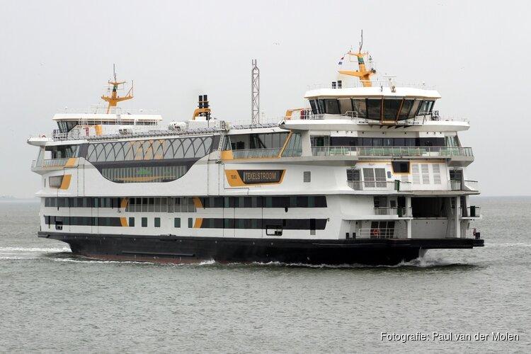 Veerboot tussen Texel en Den Helder vanaf 12.00 uur plat