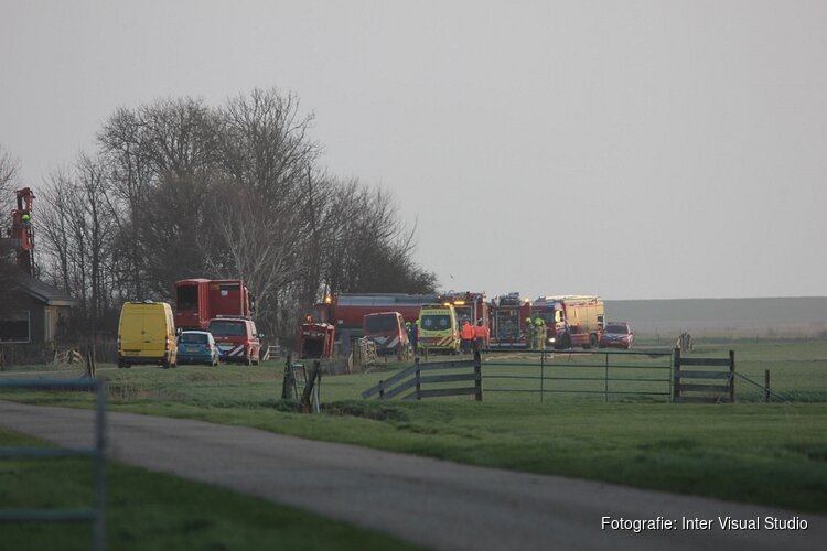 Vijf schapen overleden bij brand Texel: nabijgelegen weiland wordt gesaneerd om asbest