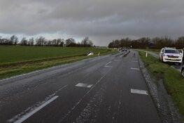 Auto in de sloot door gladheid op Texel