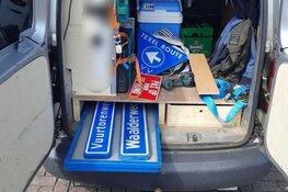 Duo gepakt met lading geroofde Texelse plaats- en straatnaamborden