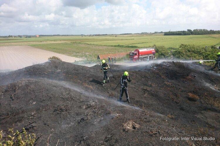 Per direct rook- en stookverbod in Texelse natuur door aanhoudende droogte
