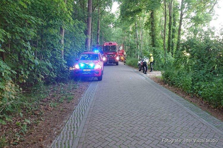 Natuurbrandje Den Burg snel onder controle