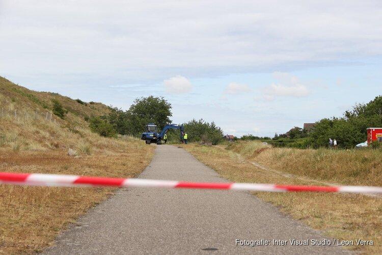 Explosievenonderzoeksbureau begonnen met het zoeken naar explosieven op Texel