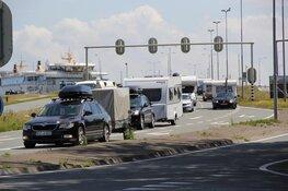 Drukte op Texel ondanks corona maatregelen tijdens zomerhitte