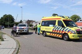 Vrouw gewond na valpartij met fiets