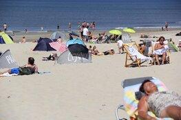 Drukte op de Texelse stranden