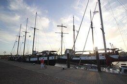 Drie meest luxe schepen in haven Texel